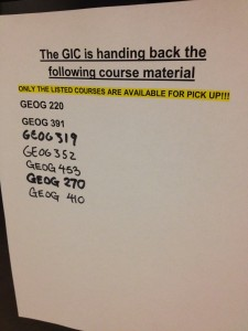 GIC assignment handbacks