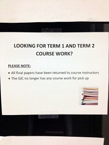 Looking for term 1, term 2 and summer course work?